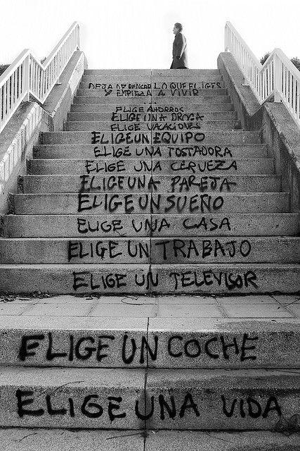 Elige una Vida!!! by Fotografia Diselgraf, via Flickr