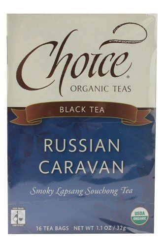 Choice Organic Teas Black Tea Russian Caravan -- 16 Tea Bags - 2 pc -- Learn more by visiting the image link. (This is an affiliate link) #TeaSamplers