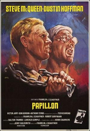 Papillon (1973) EEUU. Dir.: Franklin J. Schaffner. Aventuras. Drama. Biográfico - DVD CINE 1505
