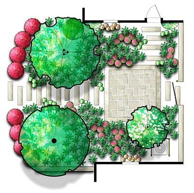 InterLeafings: Garden Designers Roundtable: Design Drawing Diversity