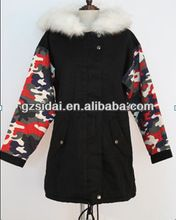 wholesales ladies warm winter coat with fur hood and padded linig  Best Buy follow this link http://shopingayo.space