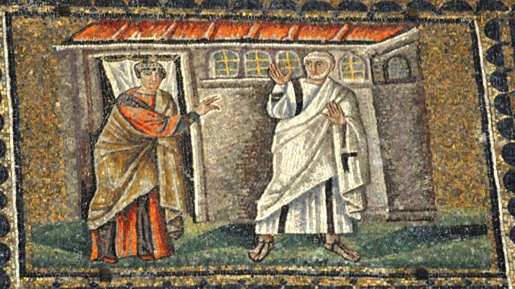 Peter's Denial of Jesus Church of Sant'Apollinare Nuovo, Ravenna