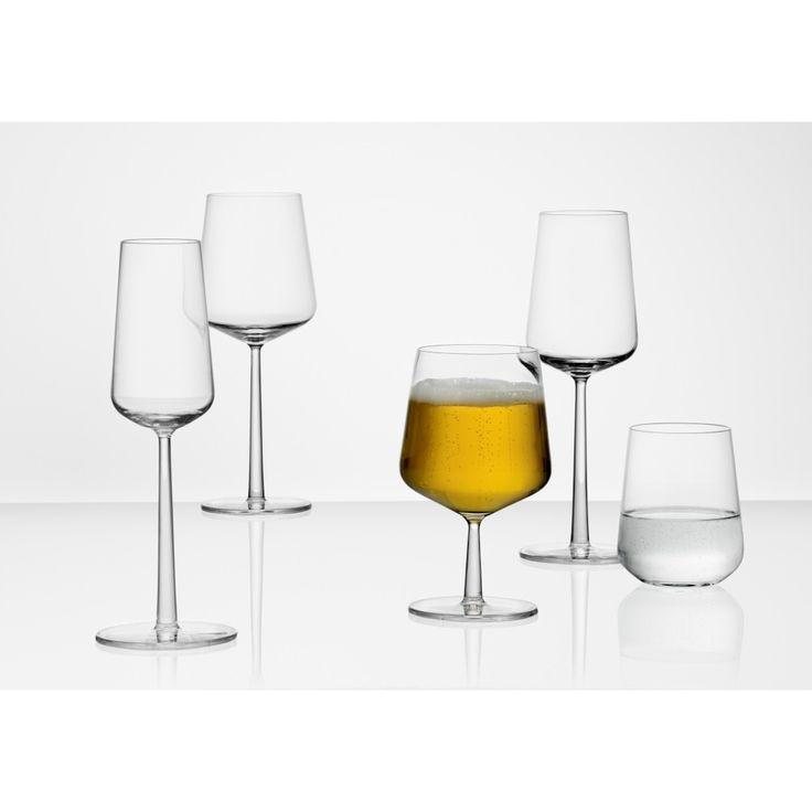 Iittala Essence Wit Wijnglas 330 ml Set van 2 - Helder