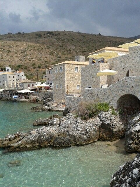 Limeni, Mani, Greece http://www.discover-peloponnese.com/