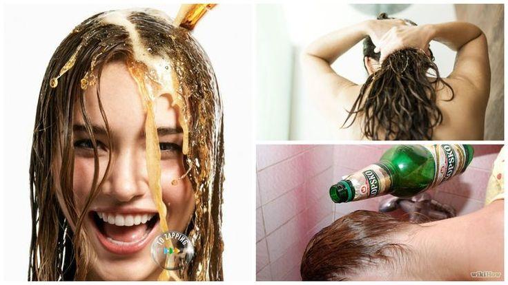 cerveza cabello