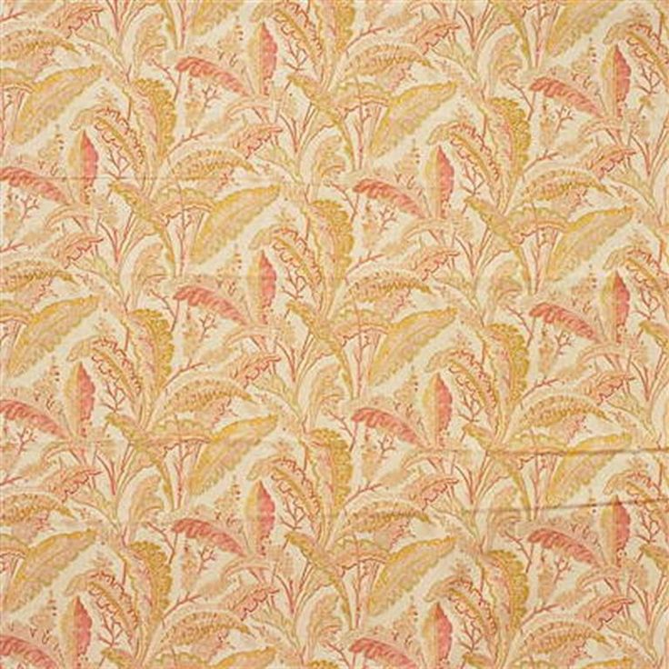 Memorable Paisley Woodland Drapery And Upholstery Fabric By Laura Ashley.  Item LA1295.33.0.