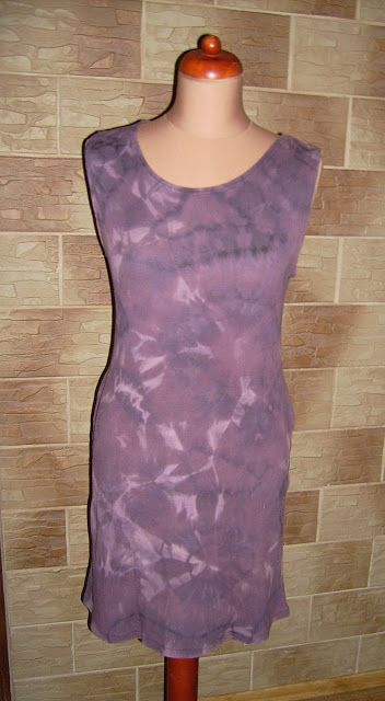 Lady at home DIY Blog: DIY acid washed dress Odbarwiana sukienka na rockowo