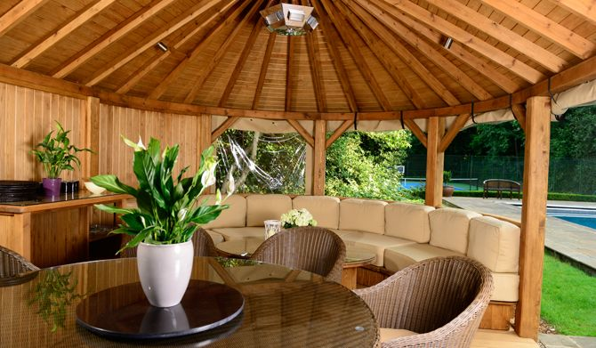 hampton luxury wooden gazebos crown pavilions the plantation pinterest wooden gazebo. Black Bedroom Furniture Sets. Home Design Ideas