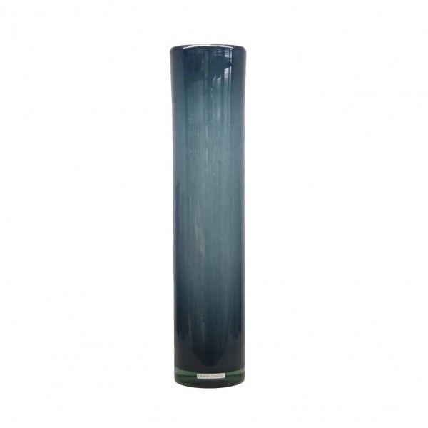Cylinder Denim Large Vase
