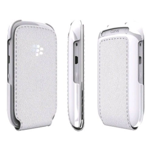 BlackBerryCurve 9320 Flip Shell White