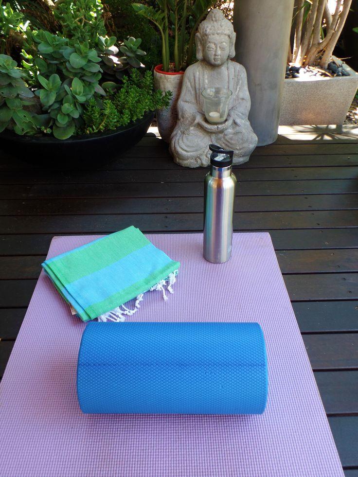 Morning Yoga with my Knotty towel.  #knotty #towel #yoga #buddah
