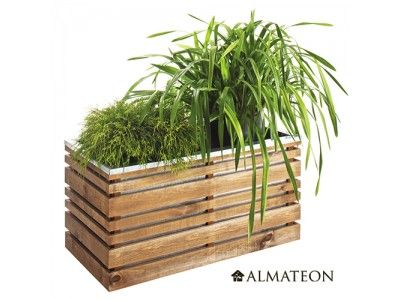1000 id es propos de bac jardiniere sur pinterest planteurs recycl s bac jardin et bac - Bambou en pot jardiland ...
