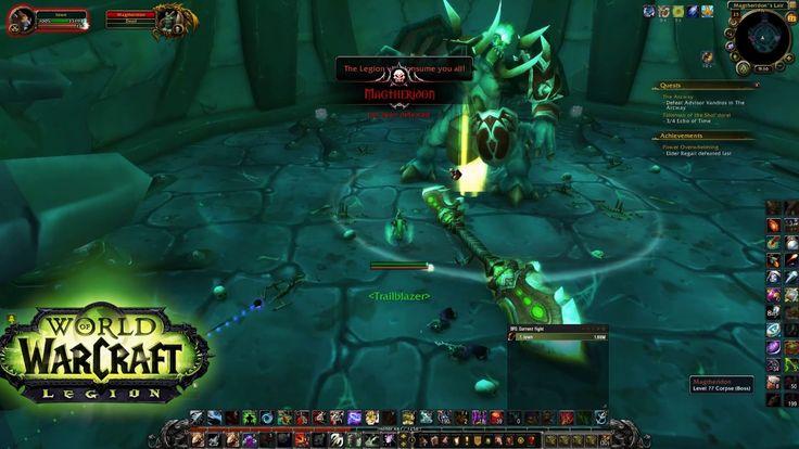World Of Warcraft - Magtheridon's Lair ( lvl 70 raid)