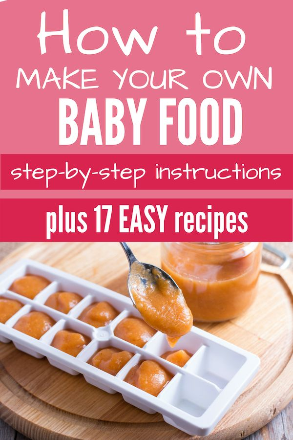 So machen Sie Ihre eigene Babynahrung   – Future Munchkins