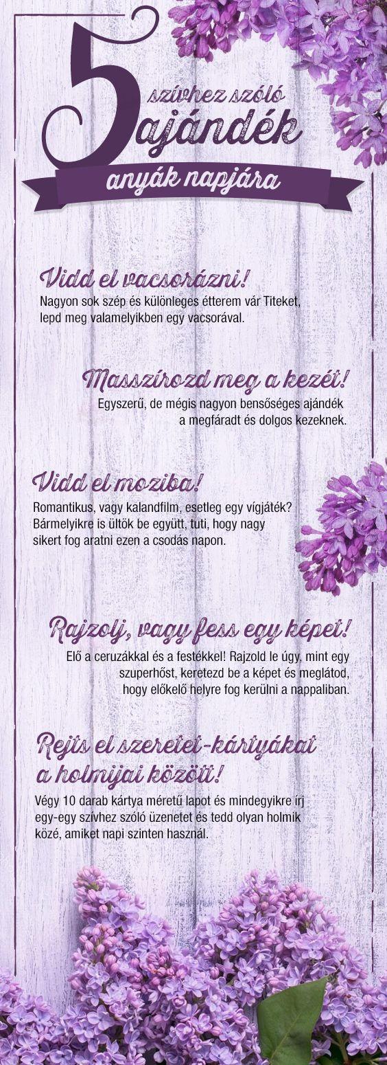 Tedd különlegessé az anyák napját! Hogyan? Itt van rá 5 tuti tipp. :) #anyaknapja #szorakozas #ajandek #anya #tesco #tescomagyarorszag