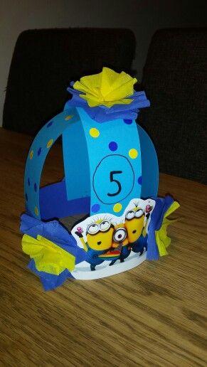 Verjaardagskroon minions