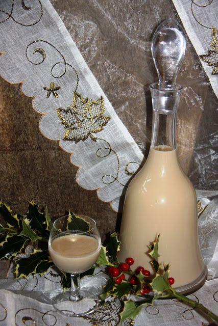 Bebida para o Natal, Cocktail de Leite, Licor de Leite com Café