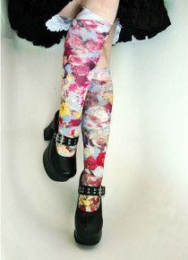 Heavenly Knee High Trouser Socks from Celeste Stein - are you feeling heavenly?