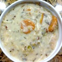 Creamy Chicken & Wild Rice Soup...Crockpot Style - This Gal Cooks
