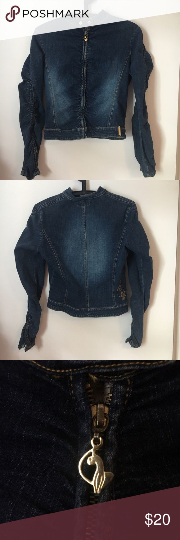 Women's Baby Phat Denim Outfit Zip-Up Size S Baby Phat size small. Jackets & Coats