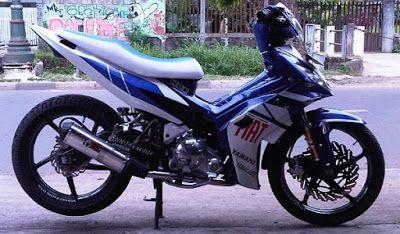 Modifikasi Motor Yamaha Jupiter MX 135 cc