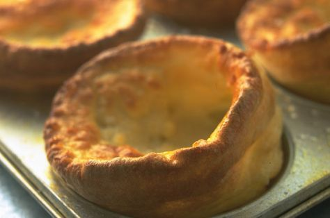 Complete your roast dinner with James Martin's Yorkshire puddings.This recipe has been passed down from his Granny and is one of his favourite things to make. James uses beef dripping instead of vegetable oil for much more flavour-packed Yorkshires. It should only take 30 mins to make these Yorkshire puddings too which mean they can be the last things you make when it comes to rustling up your roast dinner. ...♥♥...