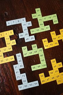 Number grid puzzles freebie!
