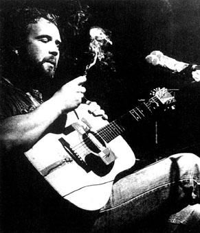 Come an' 'ave a go if y'think yer 'ard enough! The smokin', drinkin', fightin' troubadour, John Martyn.