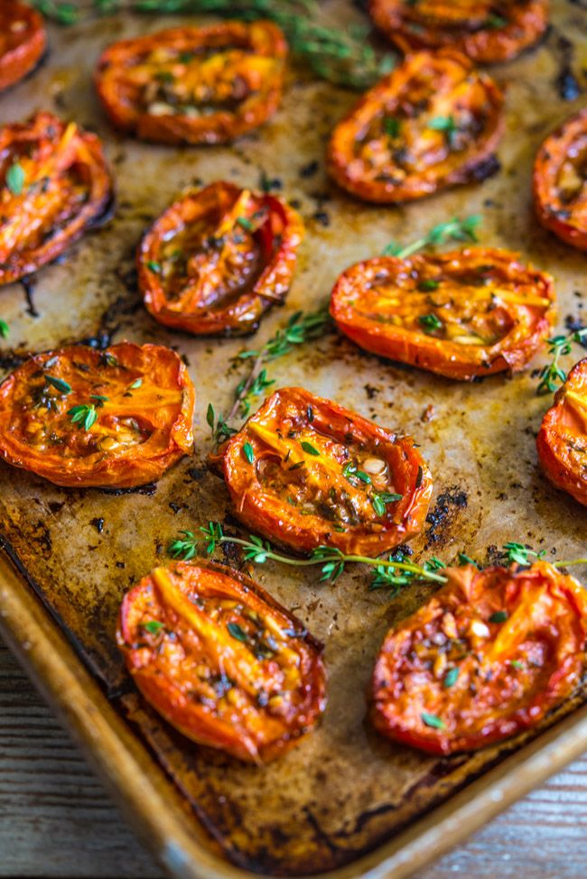Roasted Roma Tomatoes | Southern Boy Dishes