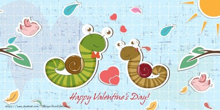 Happy Valentine's Day! I love you! 14 February
