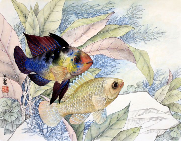 Art of Lian Quan Zhen   Watercolor