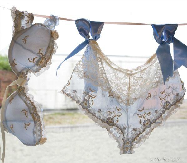 Lolita Rococo: Handmade lingerie from Paris!