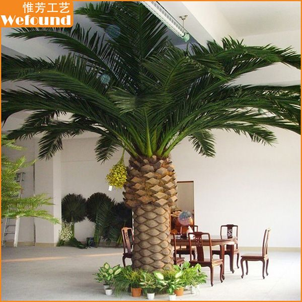 Artificial canary date palm tree,big date palm tree,small date palm tree