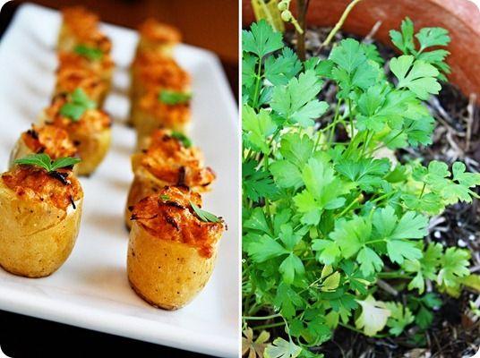 Morsi di patate al forno