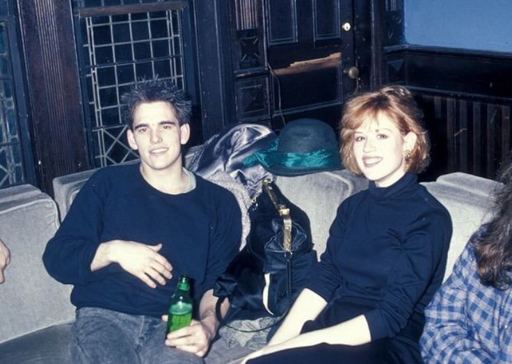 Matt Dillion and Molly Ringwald at the limelight in NYC 1986