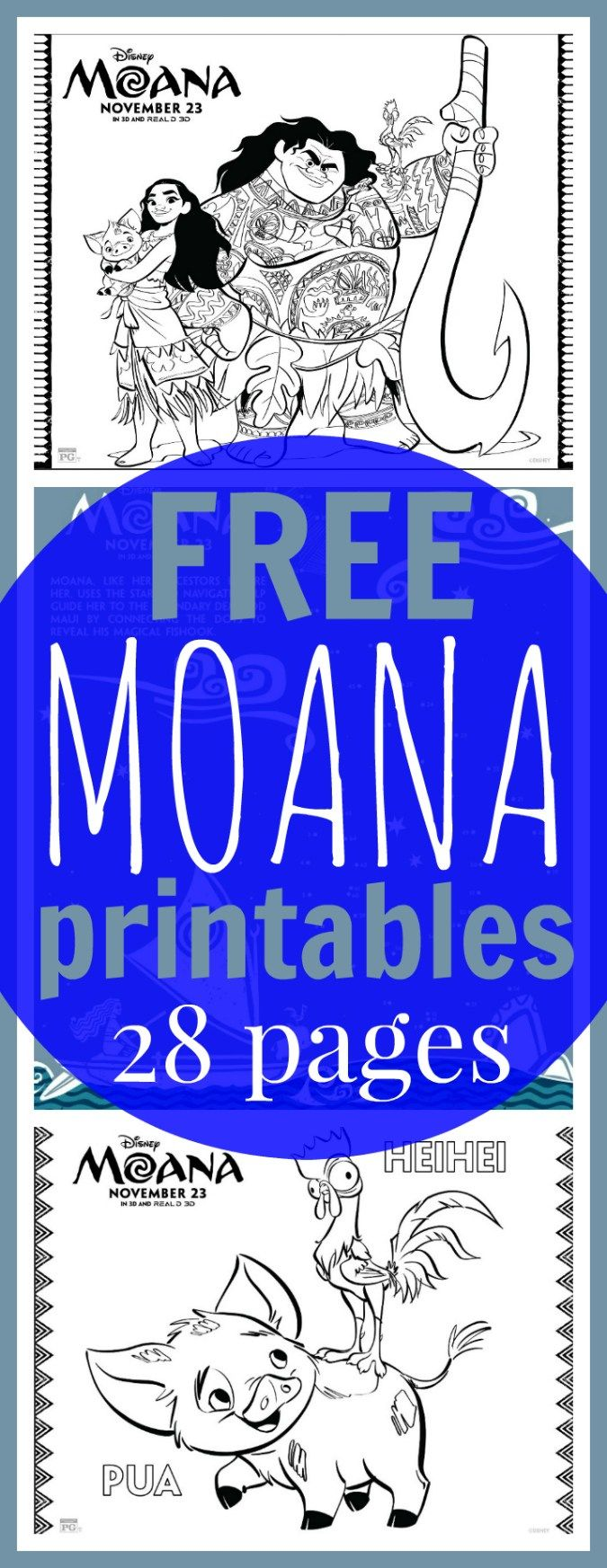 Free coloring pages end of school - Free Printable Moana Coloring Sheets Kids Activities Moana