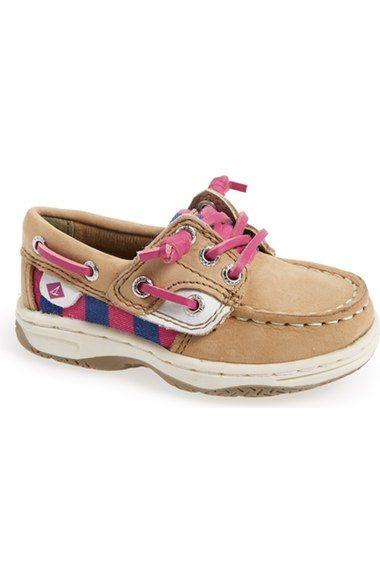 Baby Sperrys! Sperry Kids 'Ivyfish' Boat Shoe (Walker & Toddler)
