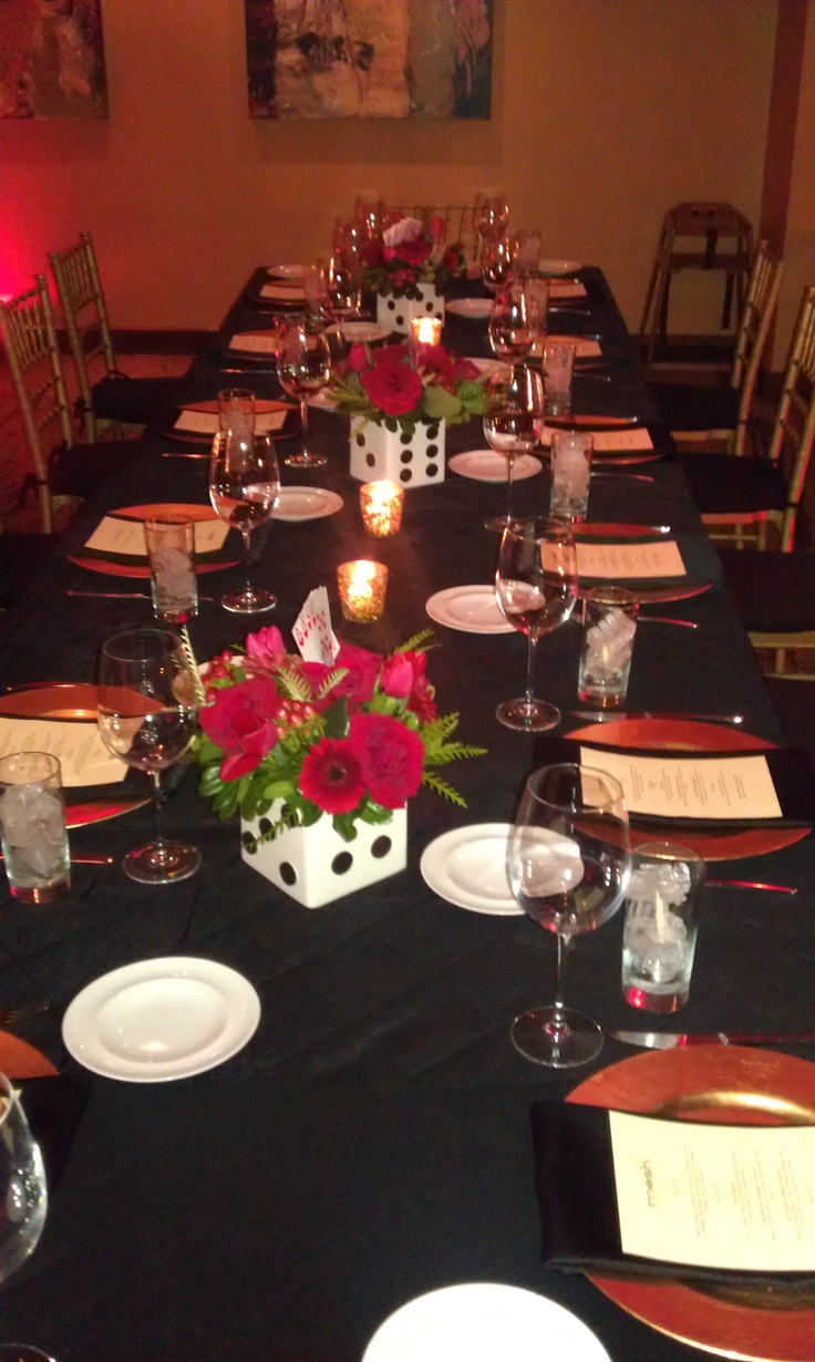 Google themes pink and black - Www Eventfullplanning Com Black Red Gold Place Settings Red Uplighting