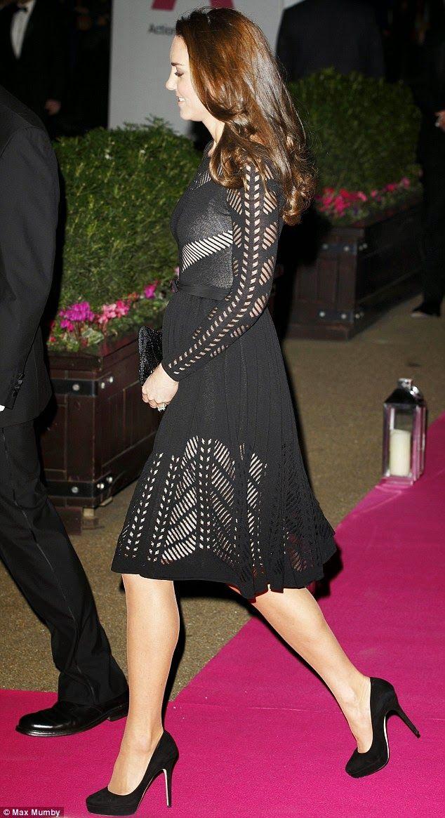 The Charm of Luxury: La duchessa di Cambridge Kate Middleton al Galà di...