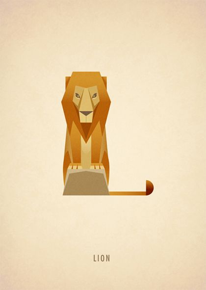 Animal Alphabet: L || Marcus Reed || http://www.marcusreed.com/