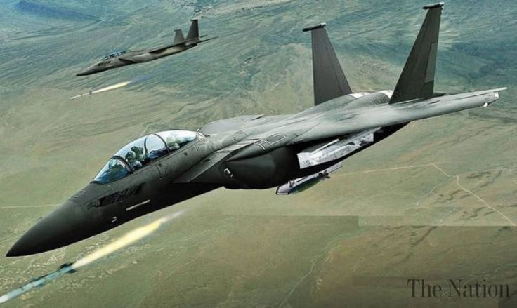 US fighter pilots prepares for more air strikes in Afghanistan - The Nation