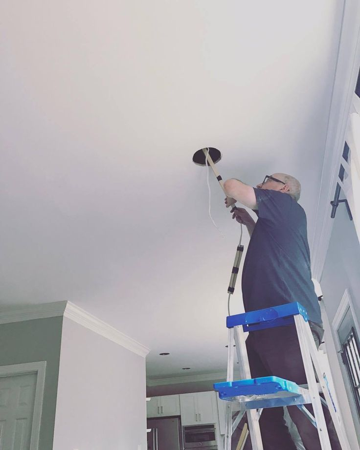 Because drilling a bunch of holes in the ceiling isnt