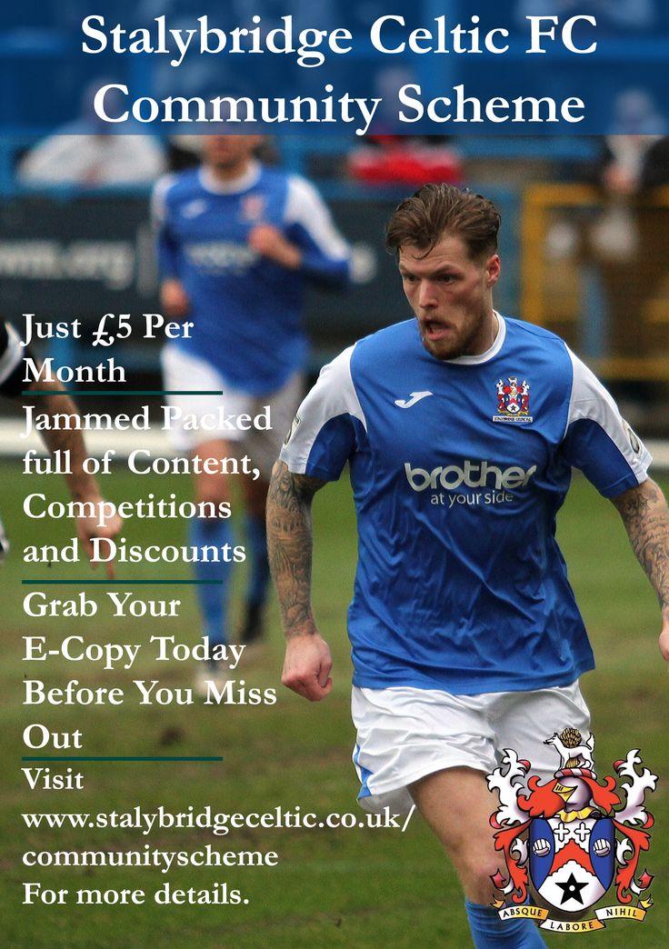 Stalybridge Celtic Fundraising magazine