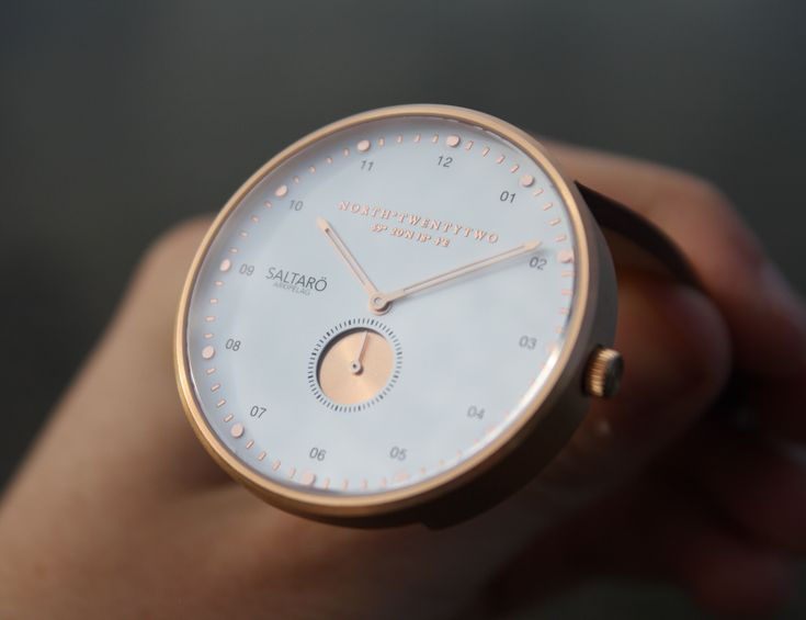 Arkipelag is a minimalistic watch collection by the Swedish watch brand NorthTwentytwo.