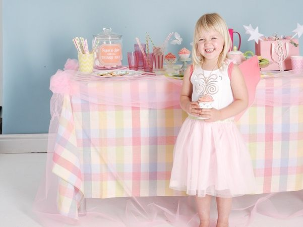 Throw a beautiful fairy princess party for your little princess with these clever templates.