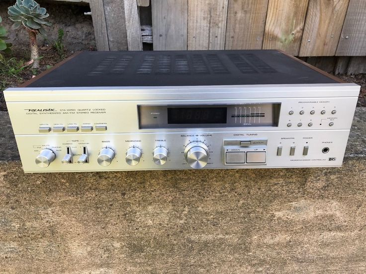 Vintage Realistic Receiver STA-2250 (1983) monster Amp | eBay