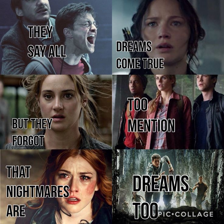 They say all dreams come true, but they forgot to mention that nightmares are dreams too.