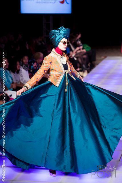 NEW YORK - ONLYPOSH.COM COVERS THE DIAN PELANGI INDONESIA RUNWAY SHOW FOR THE COUTURE FASHION WEEK F/W 2015 SEASON.  FOLLOW US: www.OnlyPosh.com