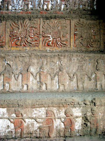 Cultura moche mural en la huaca de la luna se puede for Mural la misma luna