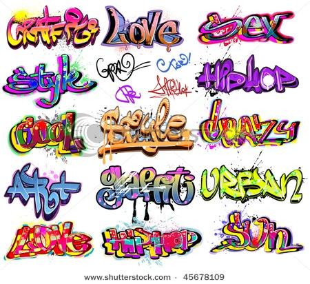 text ideas / graffiti